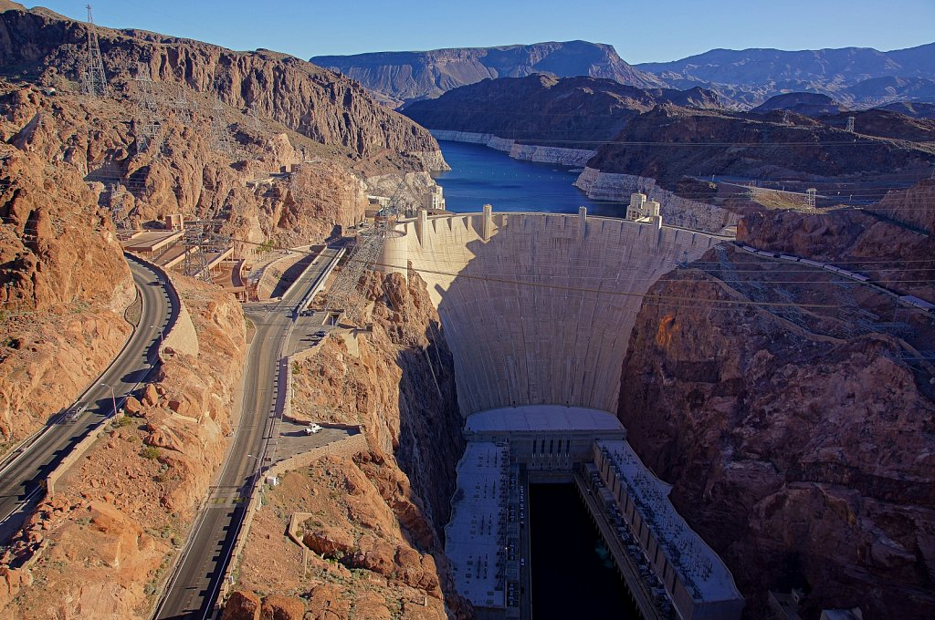 Hoover Dam. Nevada. United States.