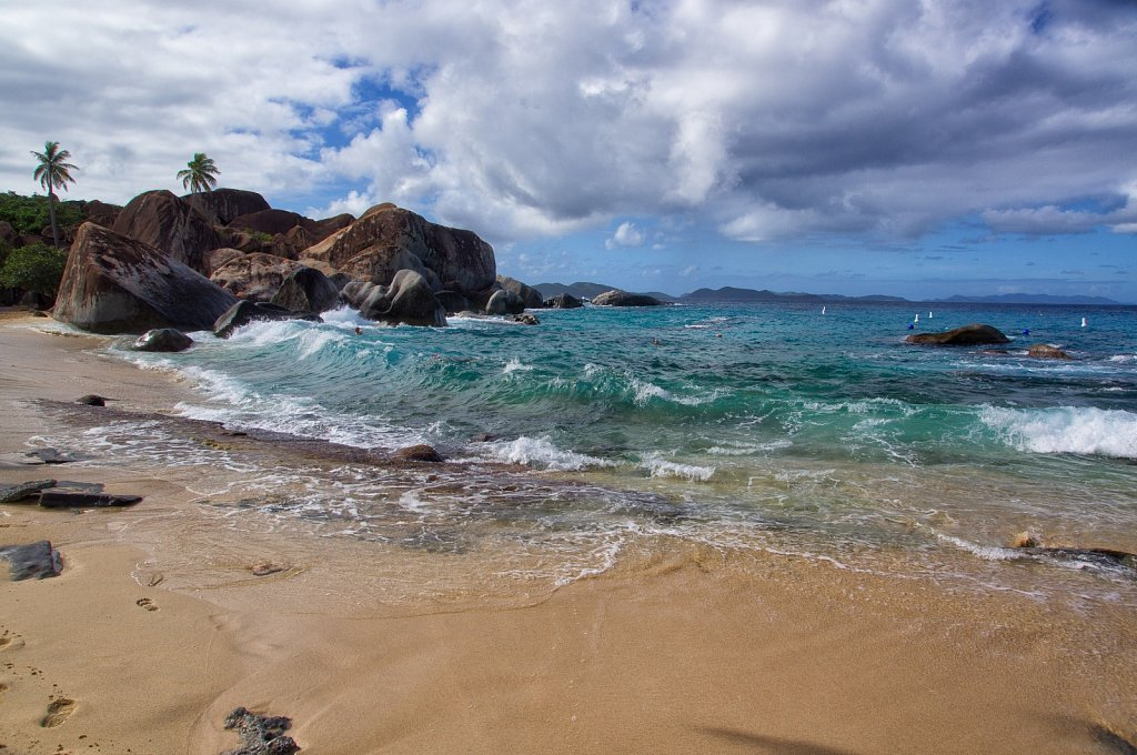 Head of The Bay. Spanish Town. Virgin Gorda. British Virgin Islands.