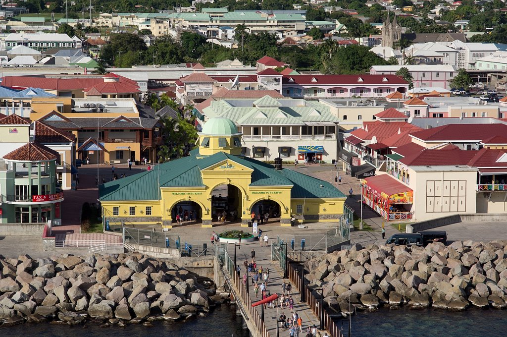 St George Basseterre Parish. St Kitts and Nevis.