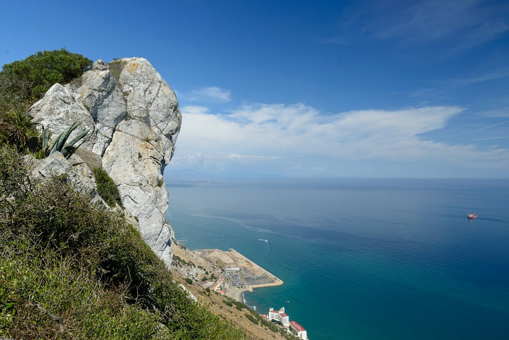 The Rock. Gibraltar.