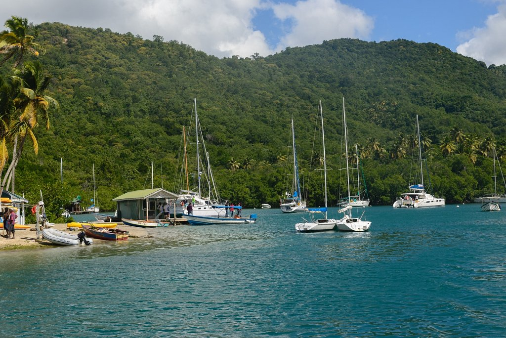 Castries. Saint Lucia.