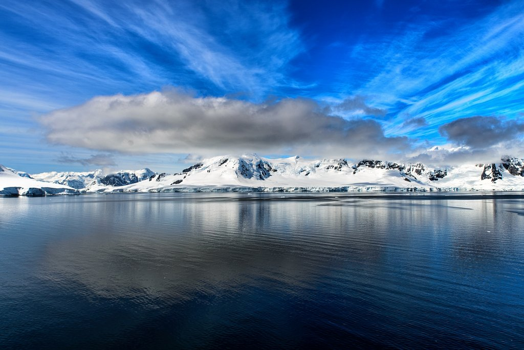 Paradise Harbor. Danco Coast. Antarctica.