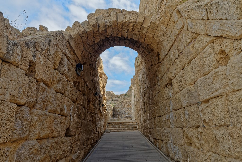 Caesarea. Haifa District. Israel.
