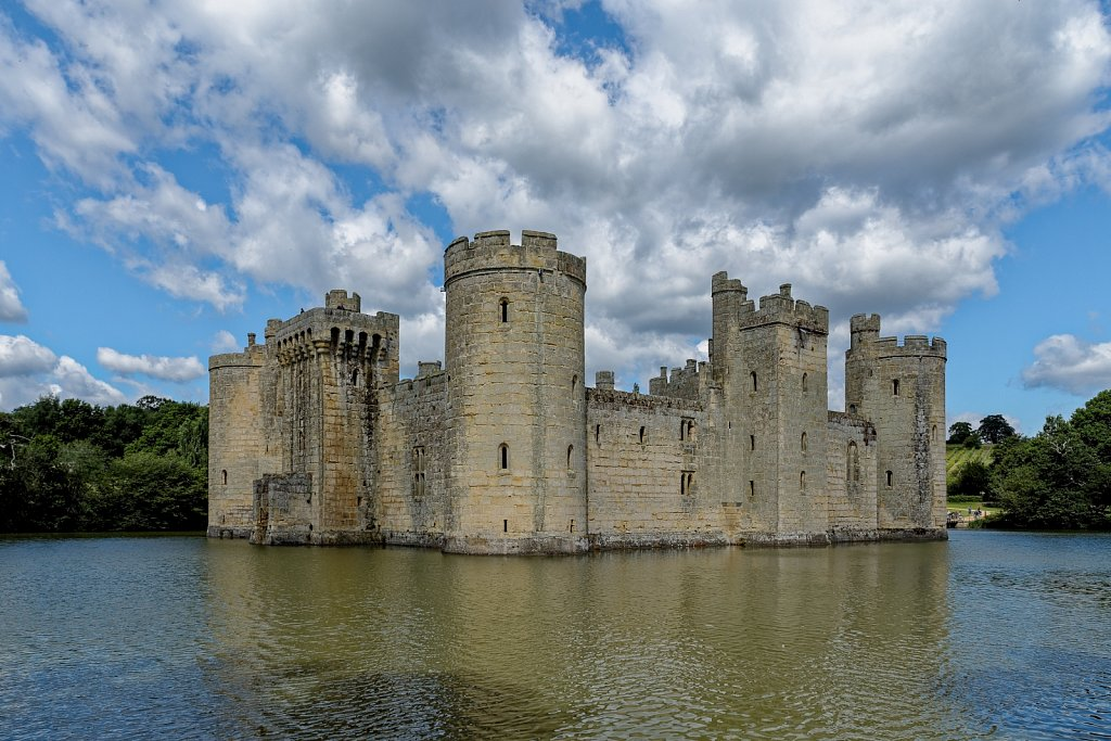 Bodiam. England. United Kingdom.