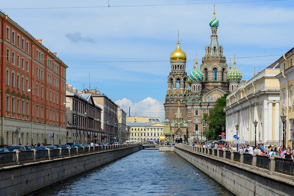 Church of the Savior on Spilled Blood. Saint Petersburg. Russia.
