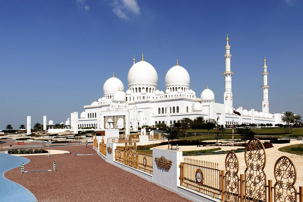 Sheikh Zayed Mosque. Abu Dhabi. United Arab Emirates.