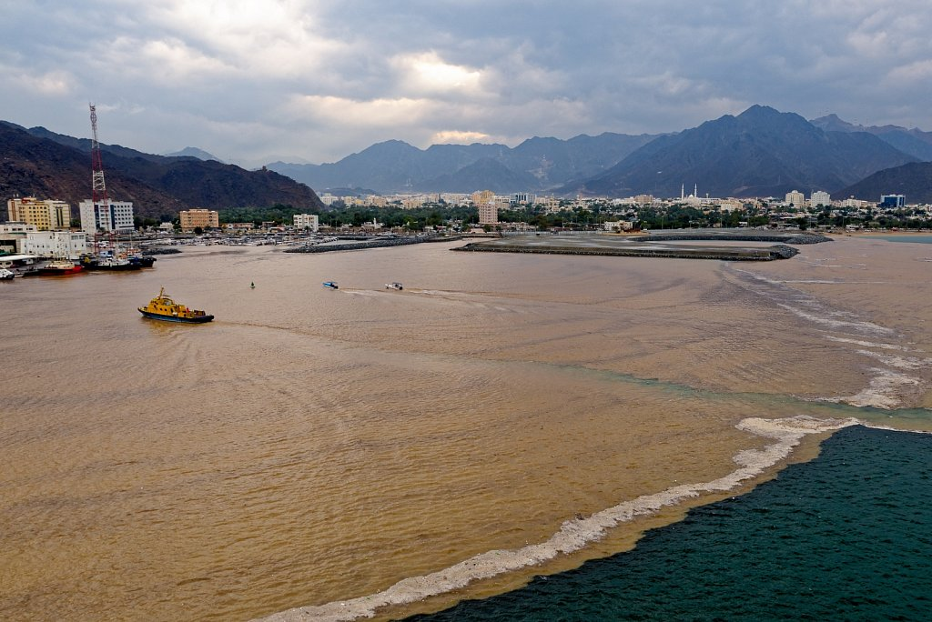 Khor Fakkan. Sharjah. United Arab Emirates.