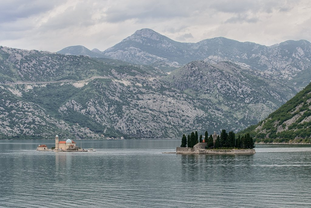 Our Lady of the Rocks Island. Tivat. Montenegro.