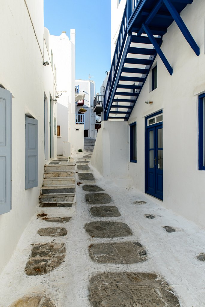 Mikonos. Egeo. Greece.