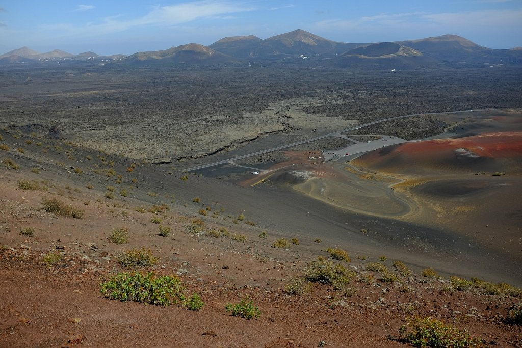 National Park Timanfaya. Lanzarote. Spain.