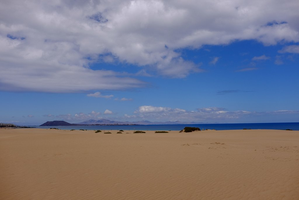National Park Corralejo. Fuerteventura. Spain.