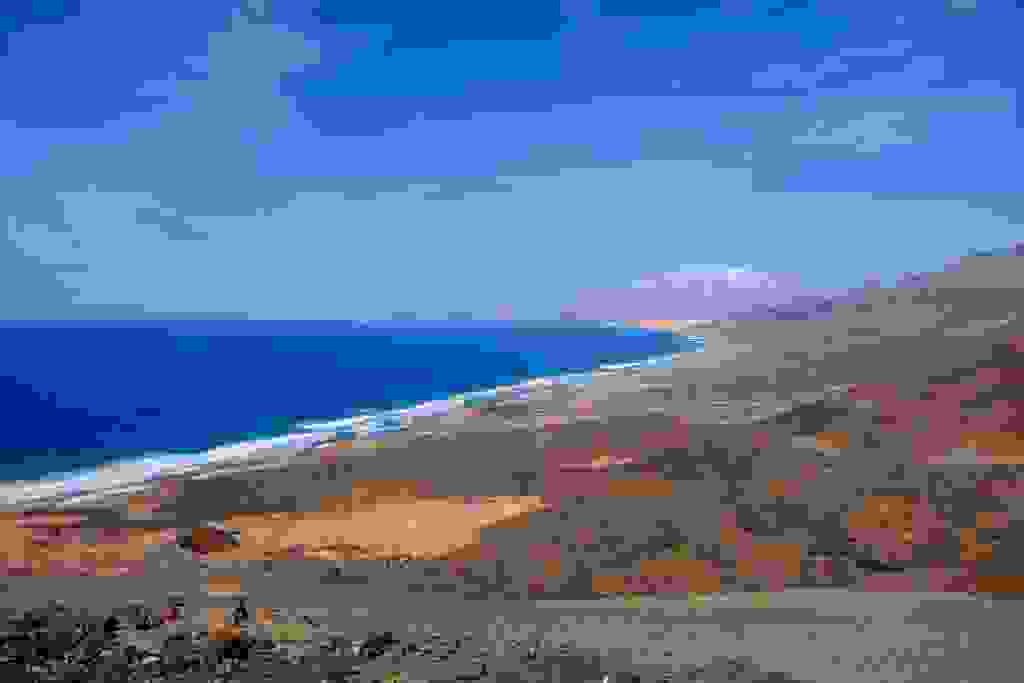 National Park Jandia. Fuerteventura. Spain.
